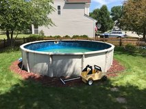 18'round Swimming Pool and Pump-Free in Westmont, Illinois
