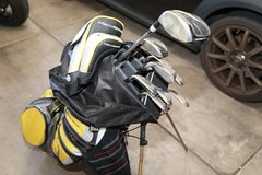 Nike Machspeed Golf Clubs with bag Mens Right Handed in Nellis AFB, Nevada