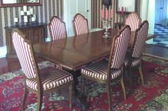 Antique dining room table in Macon, Georgia