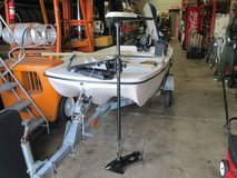MinnKota Turbo Pro Tilt Tiller Maximizer 12 volt Bow Mount Hand Controlled, 42 lbs Thrust in Elgin, Illinois