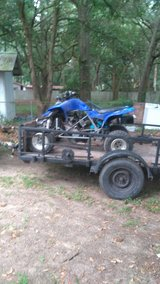 Raptor 660 with a gysr 1000 motorcycle motor in Beaufort, South Carolina