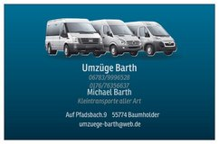 Barth Movers, Transport, Junk Removal,Janitorial Services and Piano Transport in Baumholder, GE