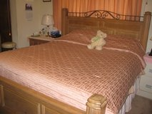 Serta King size bed w/mattress and box spring in Lawton, Oklahoma