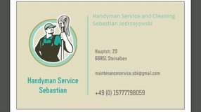 House Cleaning Services / Handyman Service / After Party Service in Ramstein, Germany