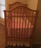 Babybed with sheets, blankets, bumper pads & dust ruffle in Kingwood, Texas