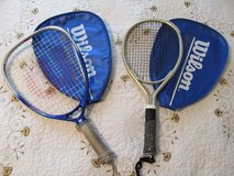 2 racket ball rackets in Kankakee, Illinois