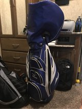 blue and white mizuno golf bag in Gainesville, Georgia