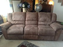 RECLINING SOFA AND RECLINING CHAIR in Fort Lewis, Washington