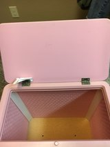 wicker pink hamper in Lackland AFB, Texas