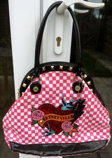 REAL BETSEYVILLE CHECKERED PURSE, BAG in Lakenheath, UK