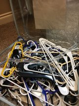 assorted hangers in Lackland AFB, Texas