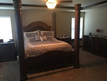 Bedroom set in Fort Lewis, Washington