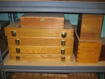 Hand-Made Oak Display Boxes in Schaumburg, Illinois