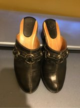 Frye Boots Mules Clogs Size 6.5 Black in Naperville, Illinois