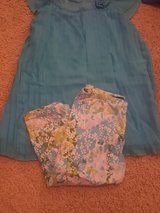 Girls blue summer Capri outfit in Cherry Point, North Carolina