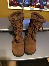 Lands End Wens Boots Brown Size 7.5 in Naperville, Illinois