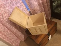 ABC small wood toy box in Kingwood, Texas
