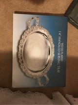 Silver plated serving tray in La Grange, Texas