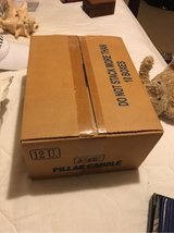 10 boxes of unopened Pillar Candles in Kingwood, Texas