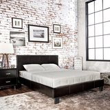 "NEW:) CONTEMPORARY QUEEN PLATFORM LEATHER BEDFRAME + 14"" THICK QUALITY MATTRESS! in Camp Pendleton, California"