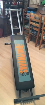 bodywork 5000 workout bench in Kingwood, Texas