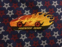 Pinewood Derby Council Patch in Pearl Harbor, Hawaii
