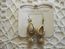 Vintage inspired Earrings by Catherine Popesco in San Ysidro, California
