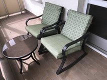 Patio Set 2 chairs and 1 table in Wiesbaden, GE