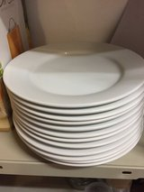 Ikea white salad or side plates in Ramstein, Germany