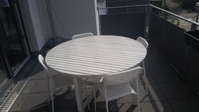 Patio table with Chairs in Stuttgart, GE