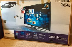 "Samsung 64"" Plasma 3D Smart HDTV - Like New in Saint Petersburg, Florida"