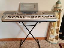 CASIO WK-3000 76-Key DIGITAL KEYBOARD PIANO/ORGAN in Yorkville, Illinois