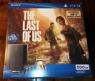 500 GB Playstation 3 PS3 with 9 games 5 are 3D + 4 controllers 2 wireless 2 wired in Kingwood, Texas