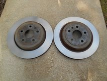 2 Cadillac CTS CTS-V Rear Brake Rotor 2008 thru 2014 GM part # 15267108 in Naperville, Illinois