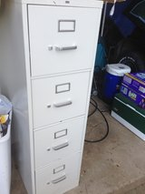 Two 4-drawer filing cabinets, clean in New Lenox, Illinois