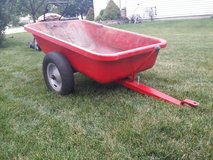 lawn and garden trailer all metal. in Yorkville, Illinois