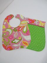 Baby Bib / Burp Cloth Set - Paisley in Kingwood, Texas
