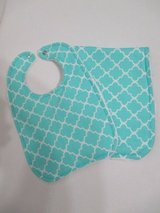 Baby Bib / Burp Cloth Set - Turqoise in Kingwood, Texas