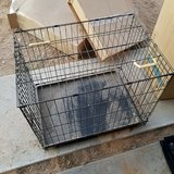 Dog kennel crate in 29 Palms, California