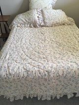 Comforters/Shams/Sheets/Bed Skirts -Twin (2 sets) in Cleveland, Ohio