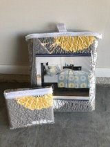 NEW Gray/Yellow Twin Quilt & Sham in CyFair, Texas