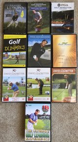 Golf DVD's in Fairfield, California