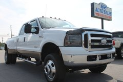 2005 Ford F350 Lariat Crewcab DRW 4X4 #10700 in Lexington, Kentucky