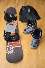 DC Snowboard, boots and bindings in Stuttgart, GE