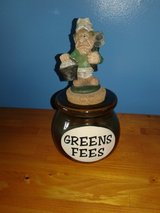 Greens fee jar in Fort Drum, New York