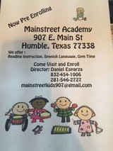 Mainstreet Childcare and Prepatory in Kingwood, Texas