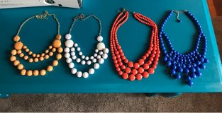 set of 4 like NEW women's necklaces in San Clemente, California