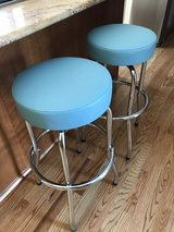Retro swivel stools in Plainfield, Illinois