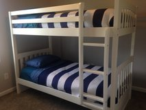 Bunk beds/twin beds/King sized bed in mint condition in Camp Lejeune, North Carolina