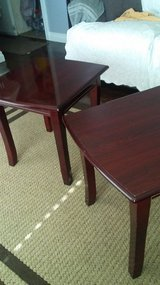 Cherry Wood End Tables in Barstow, California